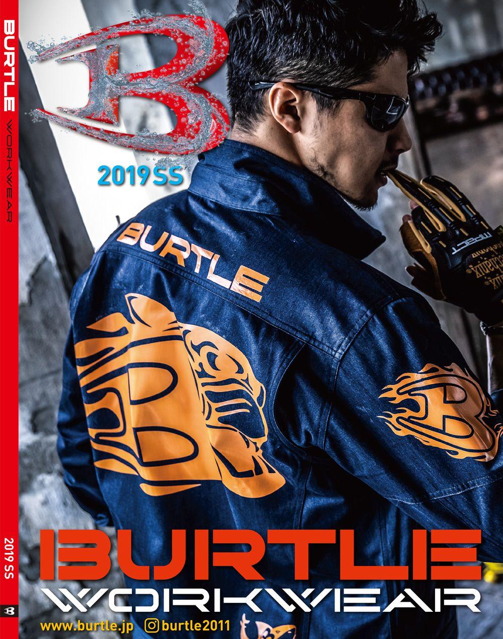 BURTLE 2019年春夏カタログ