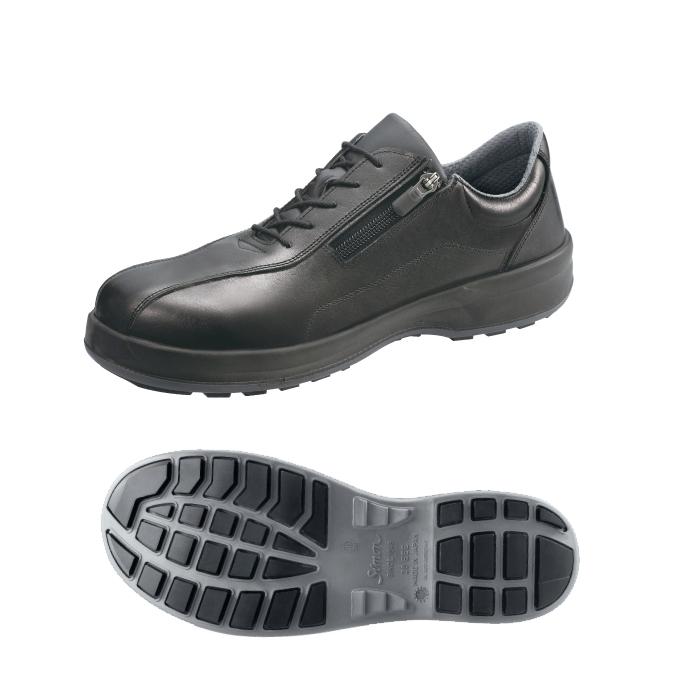 シモン安全靴 8512 黒 短靴チャック付