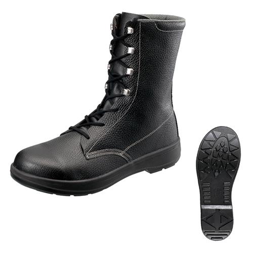 シモン安全靴 AW33 黒 長編上靴