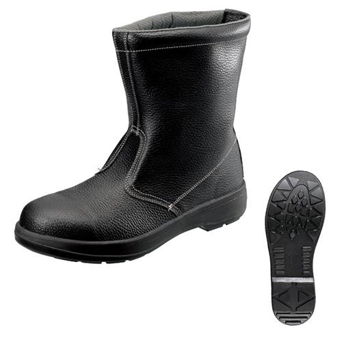 シモン安全靴 AW44 黒 半長靴
