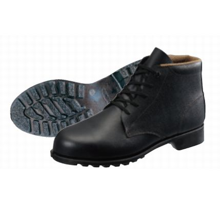 シモン安全靴 FD22 黒 編上靴