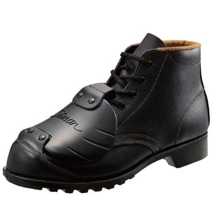 シモン安全靴 FD22 黒 樹脂甲プロ 編上靴
