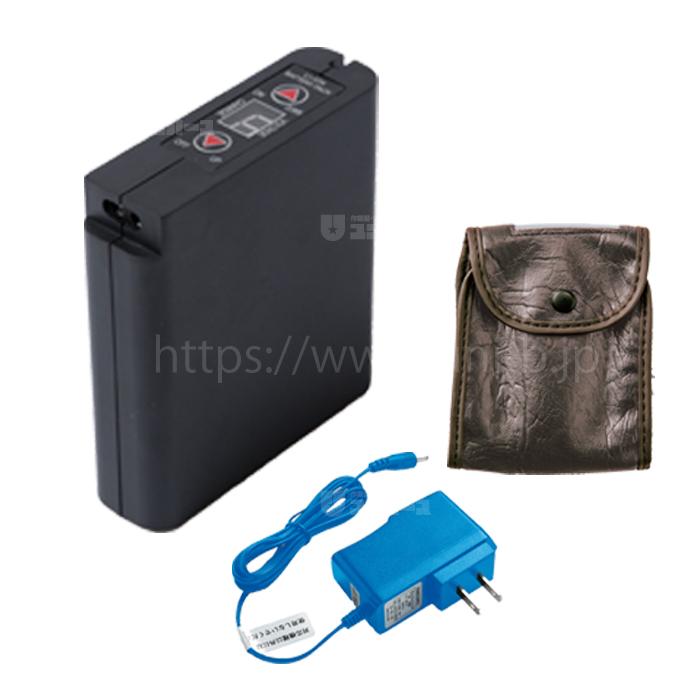 空調服用 リチウムイオン大容量バッテリーセット