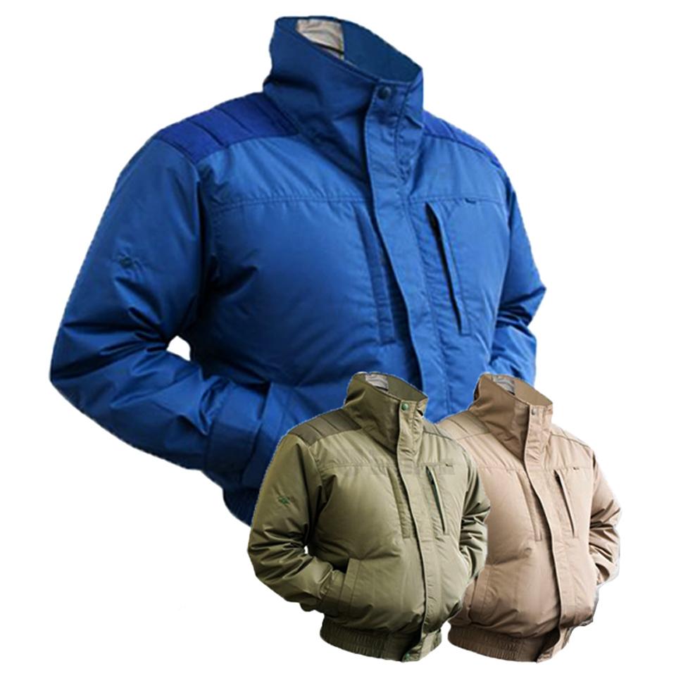 (EK1240)剛肩タチエリタイプブルゾン【社名刺繍無料サービス】
